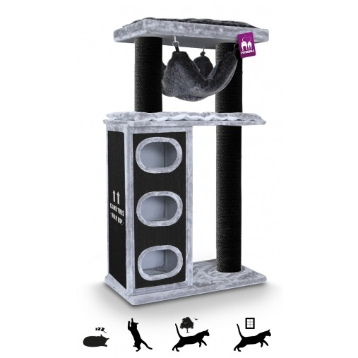 CAT TREE LUCKY CITYVIEW 195CM
